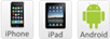 Ipone Ipad Android